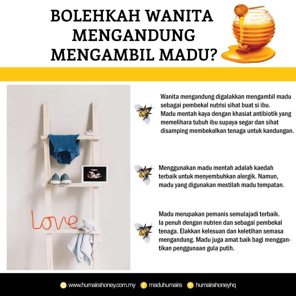 manfaat madu untuk ibu hamil dan janin