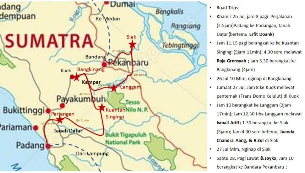 Perjalanan Kembara Kelulut Menjelajah Indonesia